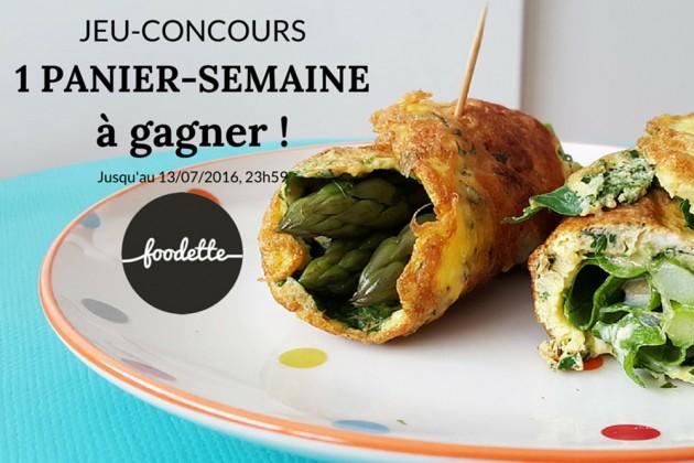 Concours Foodette : 1 panier-semaine à gagner !